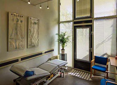 Praktijk behandelkamer